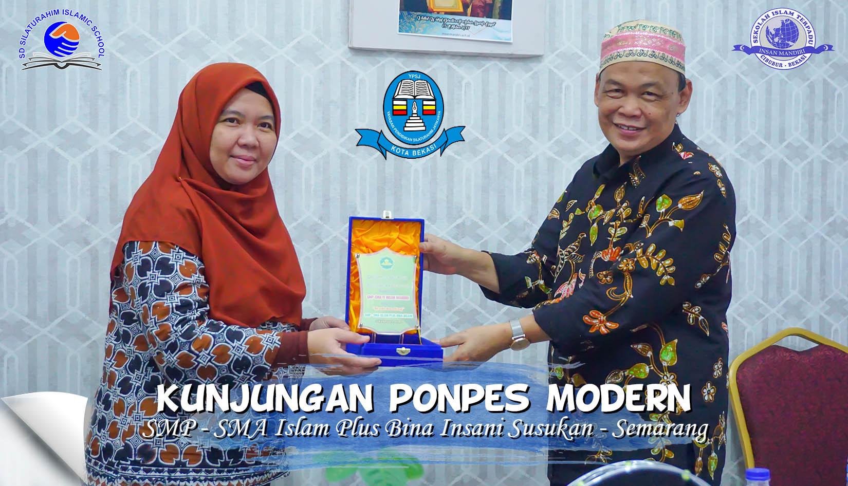Read more about the article Kunjungan Manajemen Pondok Pesantren Modern SMP – SMA Islam Plus Bina Insani Susukan Kab. Semarang