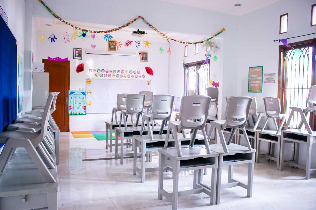 Ruang Kelas yang bersih