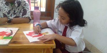 ekskul Menggambar SD Silaturahim Islamic School