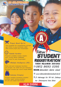 Penerimaan siswa baru sd silaturahim islamic school
