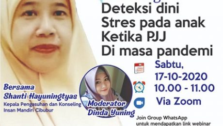 parenting deteksi dini stres pada anak ketika PJJ sd silaturahim islamic school cibubur