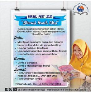 pekan literasi sd silaturahim islamic school