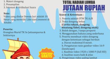 lomba dongeng SD SILATURAHIM ISLAMIC SCHOOL