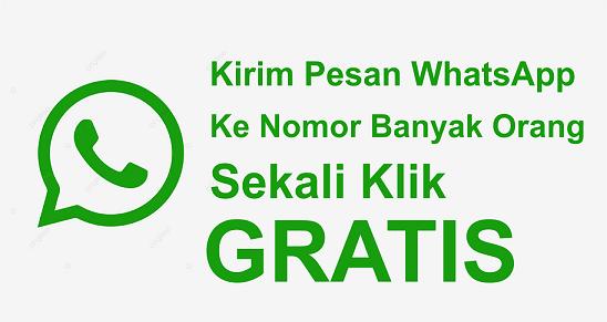 Aplikasi Brodcast Whatsapp gratis