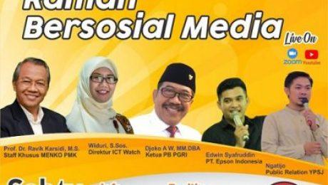 Webinar Ramah Bersosial Media